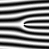 <p>Interference pattern created by neutron holography.</p>