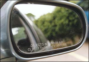Objects In Mirror May Be Closer Than >> Why Does The Passenger Side Window On My Car State Objects In