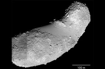 Image: Researchers find water in samples from asteroid Itokawa