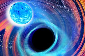 Image: Astrophysicists detect first black hole-neutron star mergers