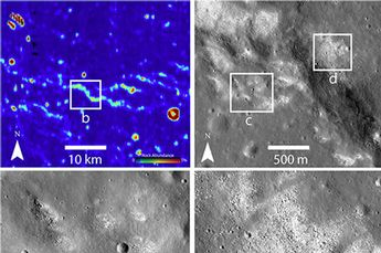 Image: Research reveals possibly active tectonic system on the Moon