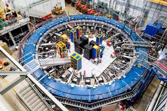 Image: Elusive particle may point to undiscovered physics