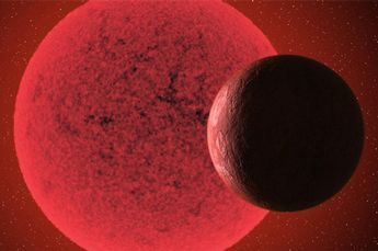 Image: A new super-Earth detected orbiting a red dwarf star
