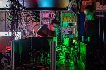 Image: First entanglement-based quantum network